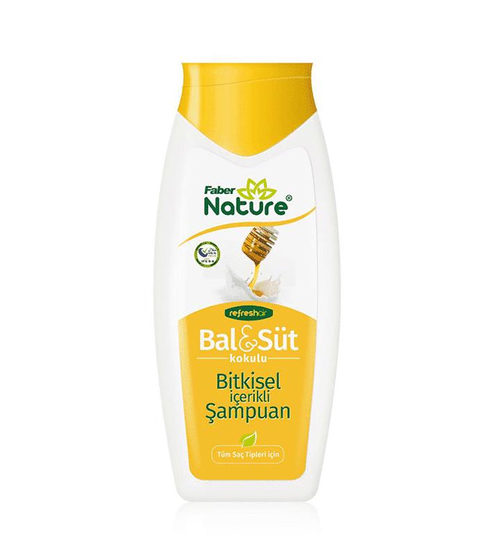 Faber Naturex Ballı Sütlü Şampuan