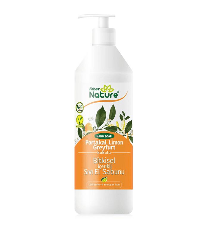Faber Naturex Sıvı Sabun Portakal Avokado