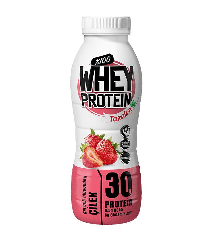 Tazelen Protein İçeceği Çilekli