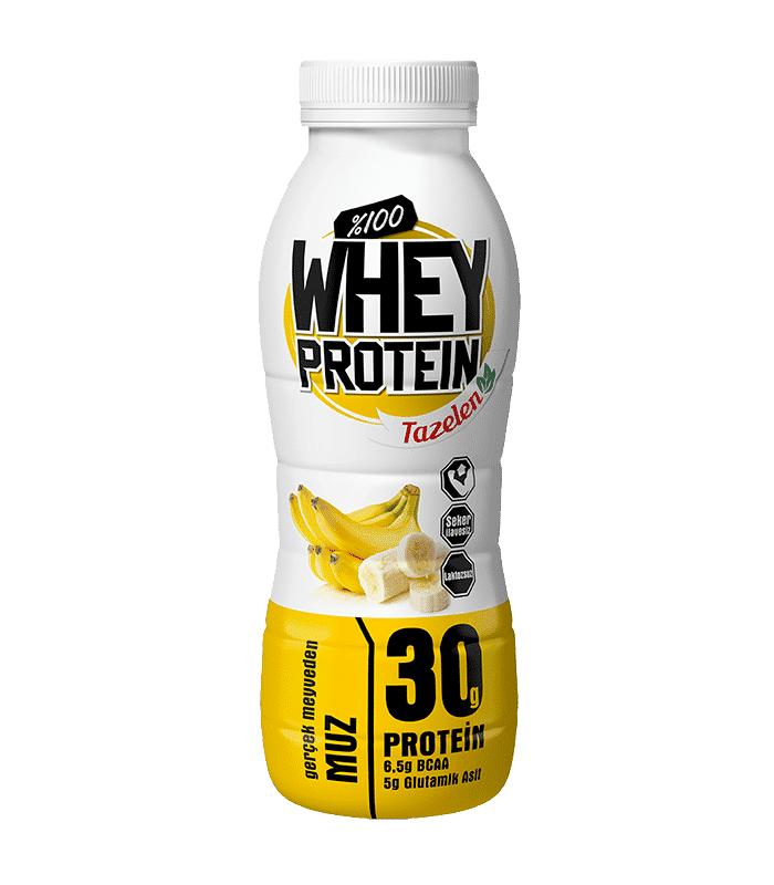 Tazelen Protein İçeceği Muzlu