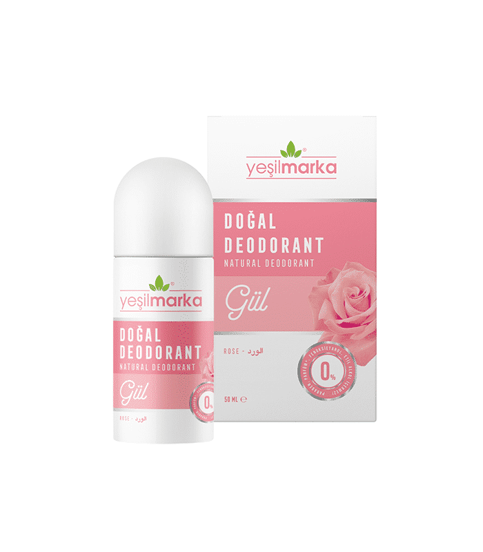 Yeşilmarka Doğal Deodorant Gül
