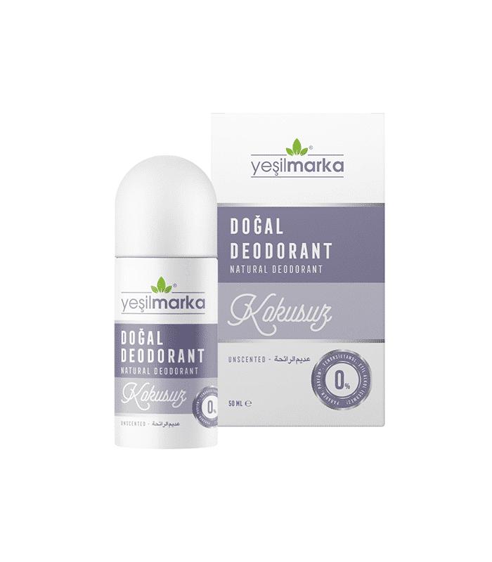 Yeşilmarka Doğal Deodorant Kokusuz