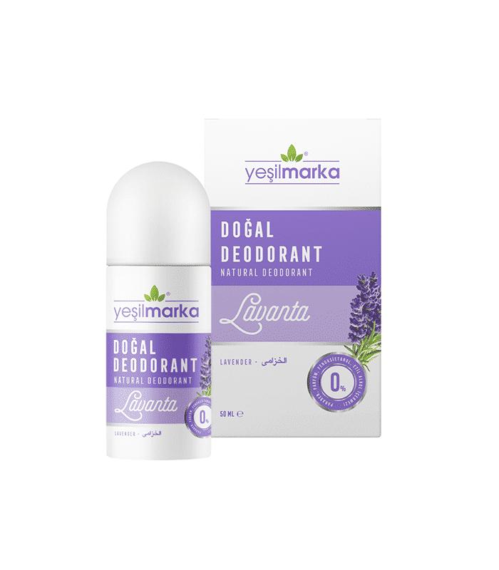 Yeşilmarka Doğal Deodorant Lavanta